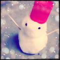 [iPhone][雪][冬][景色]雪だるま