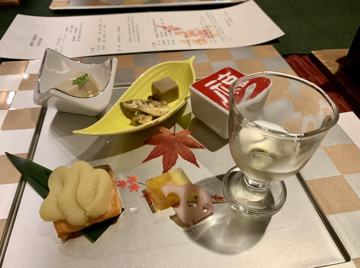 日本料理 宝寿の一の膳