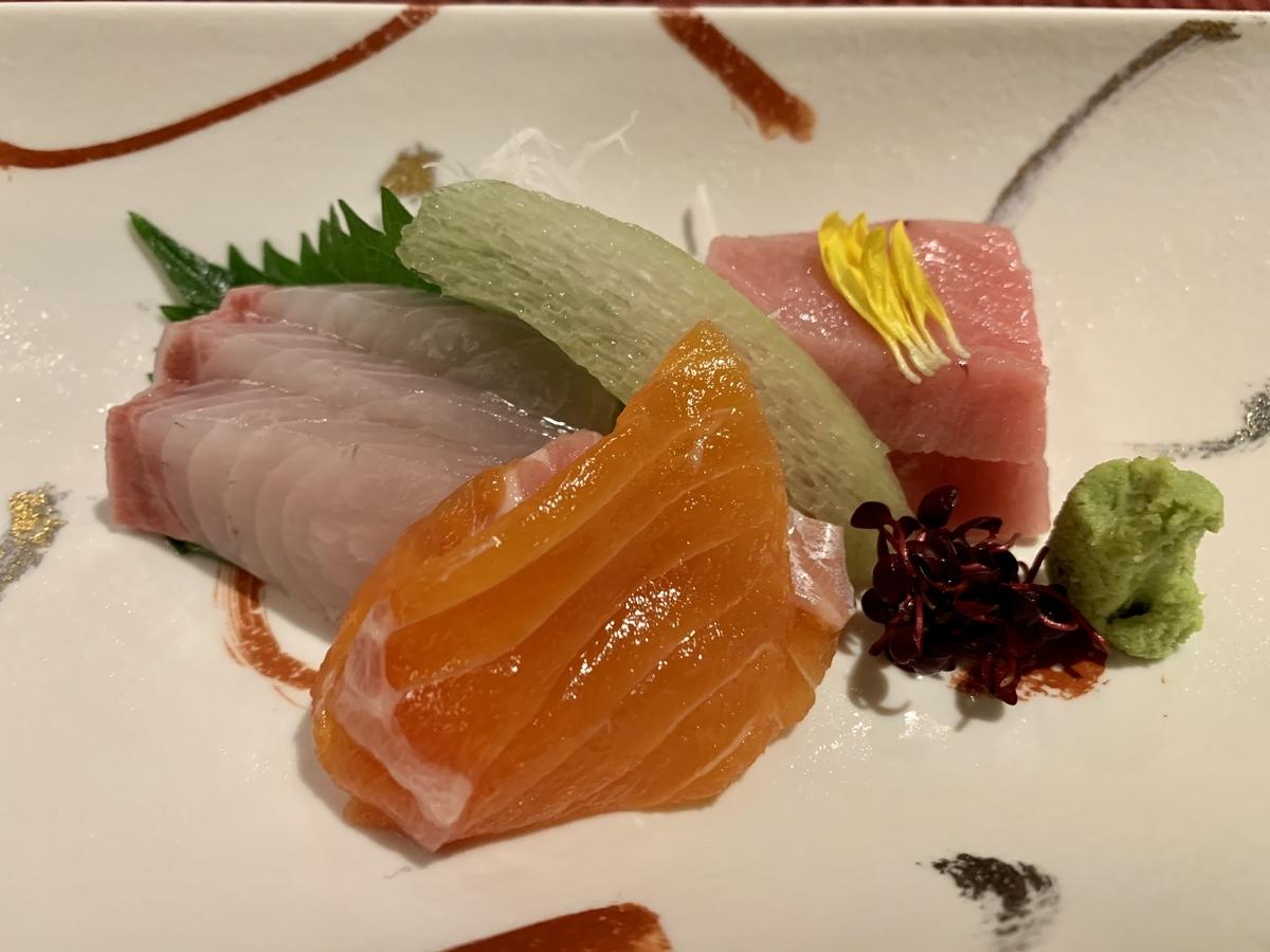 日本料理宝寿の御造り