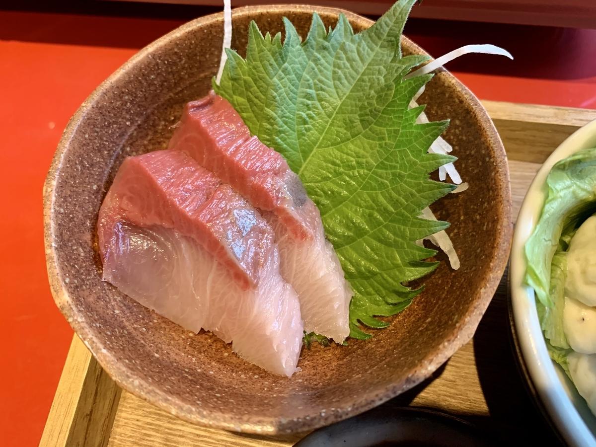 鍋と呑み処 左藤(さとう)総本店のお刺身