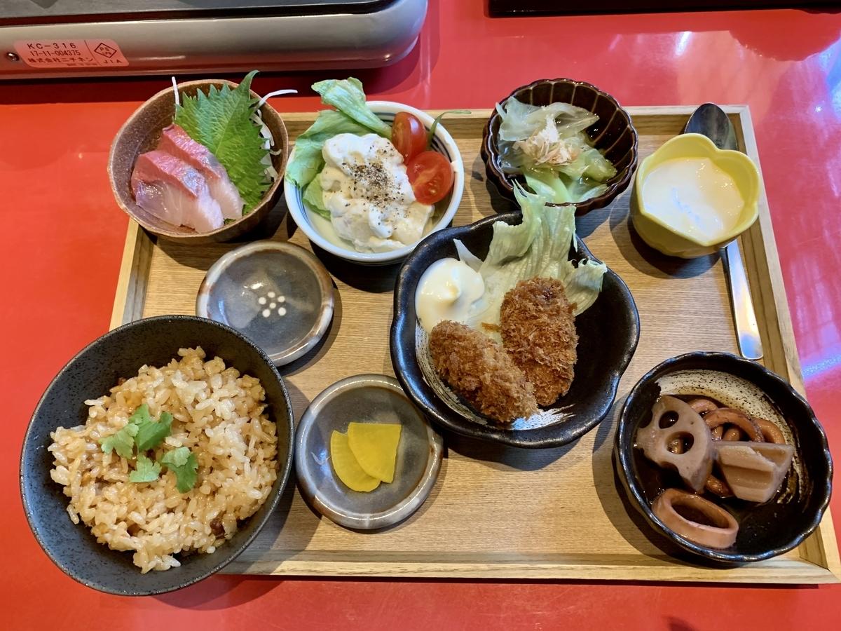 鍋と呑み処 左藤(さとう)総本店の幕の内御膳