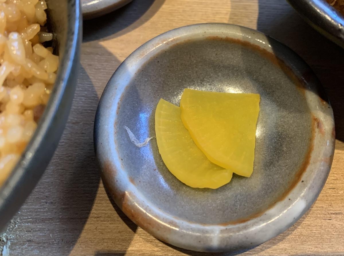 鍋と呑み処 左藤(さとう)総本店のお漬物