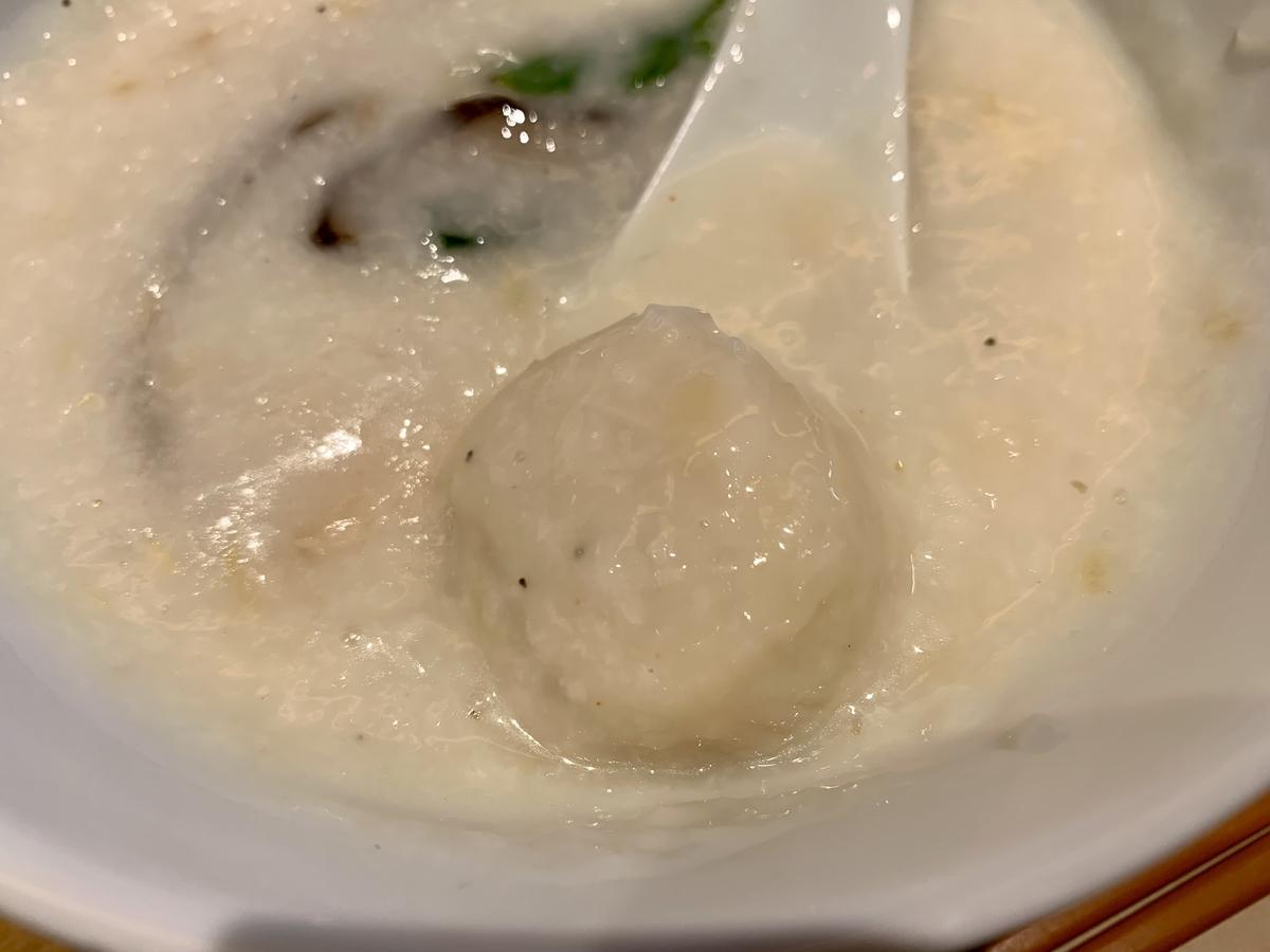 カユ デ ロワ 亀沢店 (CAYU des ROIS)の海鮮お粥