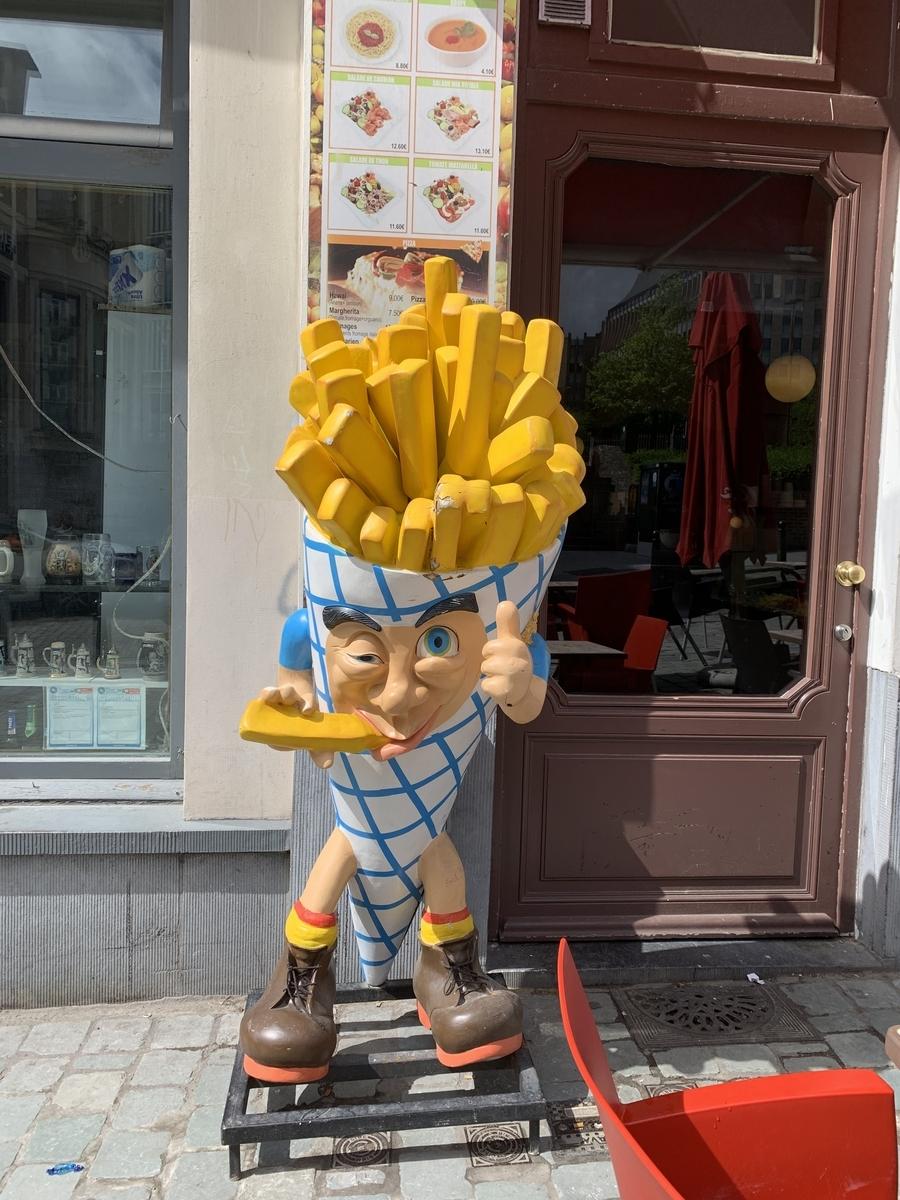 ベルギーのフライドポテト