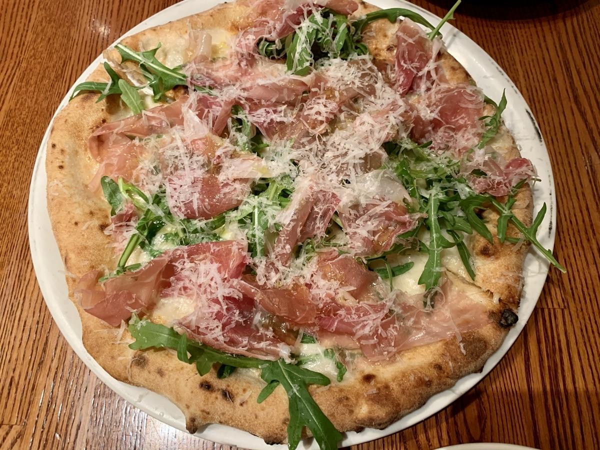 Pizzeria Trattoria Vomero(ヴォメロ) 東銀座のピザ