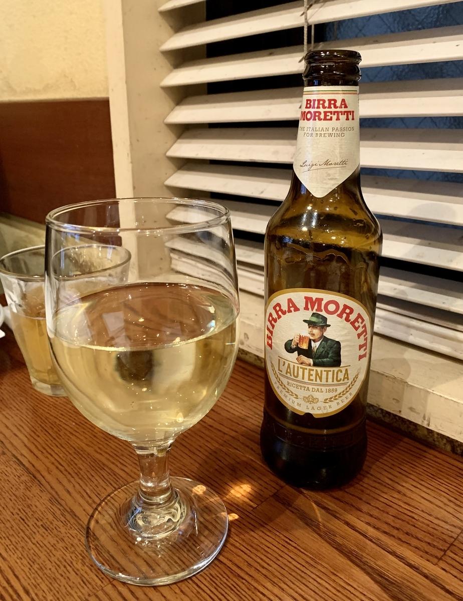 Pizzeria Trattoria Vomero(ヴォメロ) 東銀座のイタリアビール
