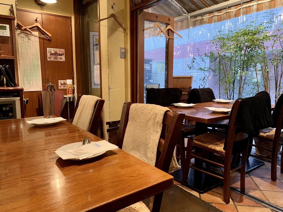Pizzeria Trattoria Vomero(ヴォメロ) 東銀座の店内