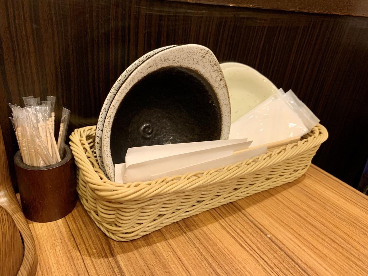 ミライザカ 駒込南口駅前店のテーブル