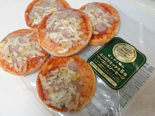 運動会のお弁当 ピザ