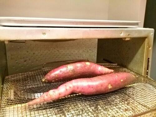 トースターで焼き芋