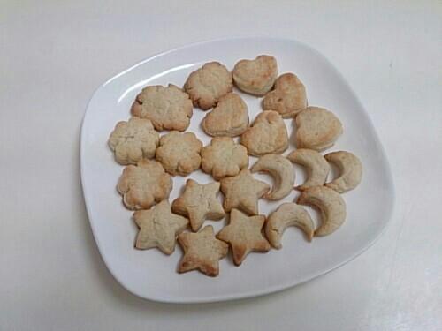 卵・バターなしクッキー