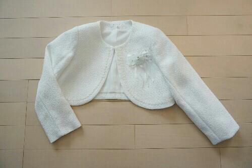 【入学式】女の子のフォーマル服(ボレロ)