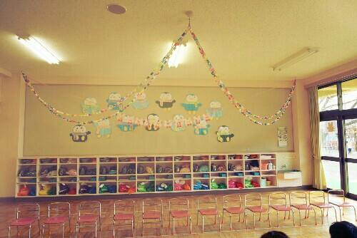 幼稚園のお遊戯会