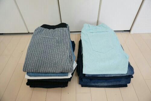 冬服の断捨離【パンツ】