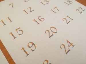手作りアドベントカレンダー03