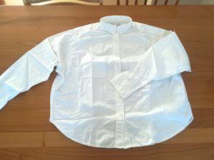 【無印良品福袋】オーガニックコットンワイドシャツ