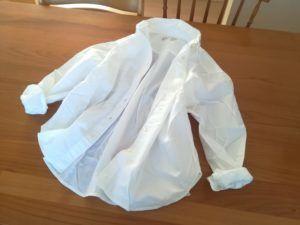 【無印良品福袋】洗いざらしワイドシャツ