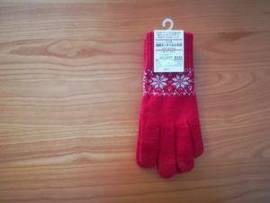 【無印良品福袋】タッチパネル手袋