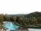 客室からの風景。プールのある庭。2013/10月