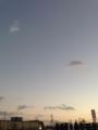 [空][夕焼け]やわらかなグラデーション。2013/10月