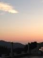 [ホテルセキア][夕焼け]夕暮れのグラデーション。2013/10月