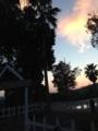 [ホテルセキア][夕焼け]夕暮れ。2013/10月