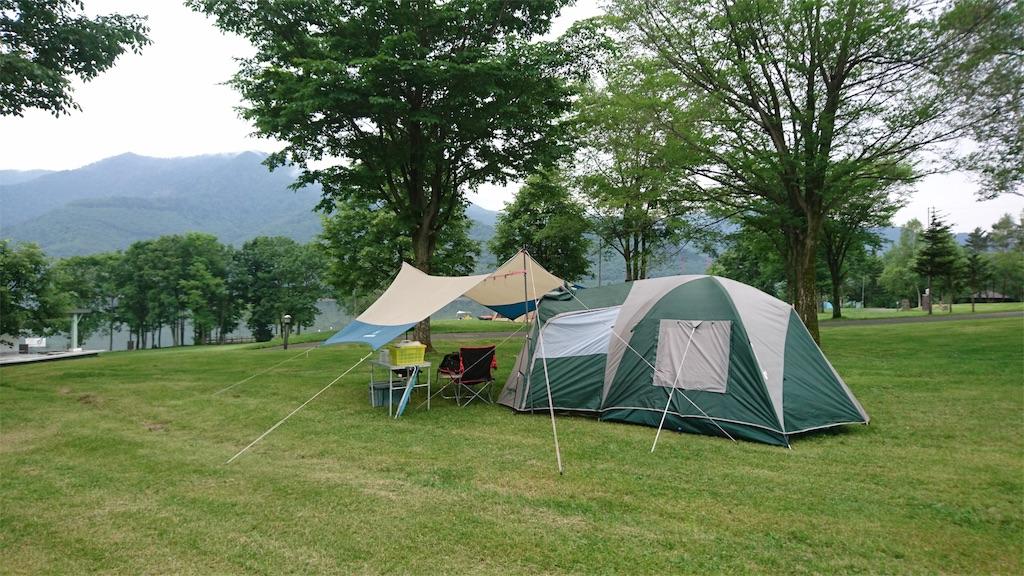 かなやま湖オートキャンプ場