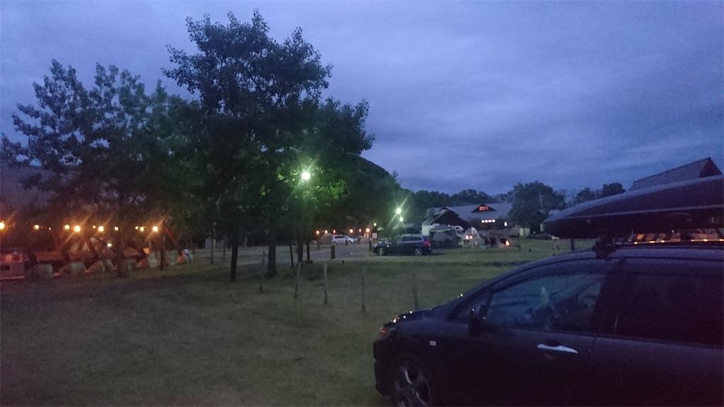 達古武湖オートキャンプ場
