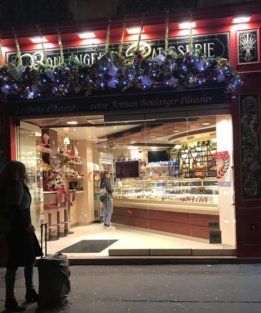 パリの美味しいパン屋さん