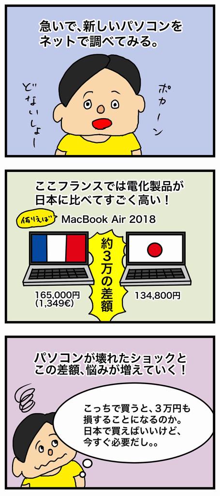 フランスのアップル製品は高い