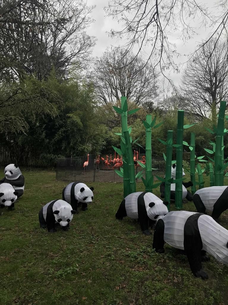 パンダのオブジェ
