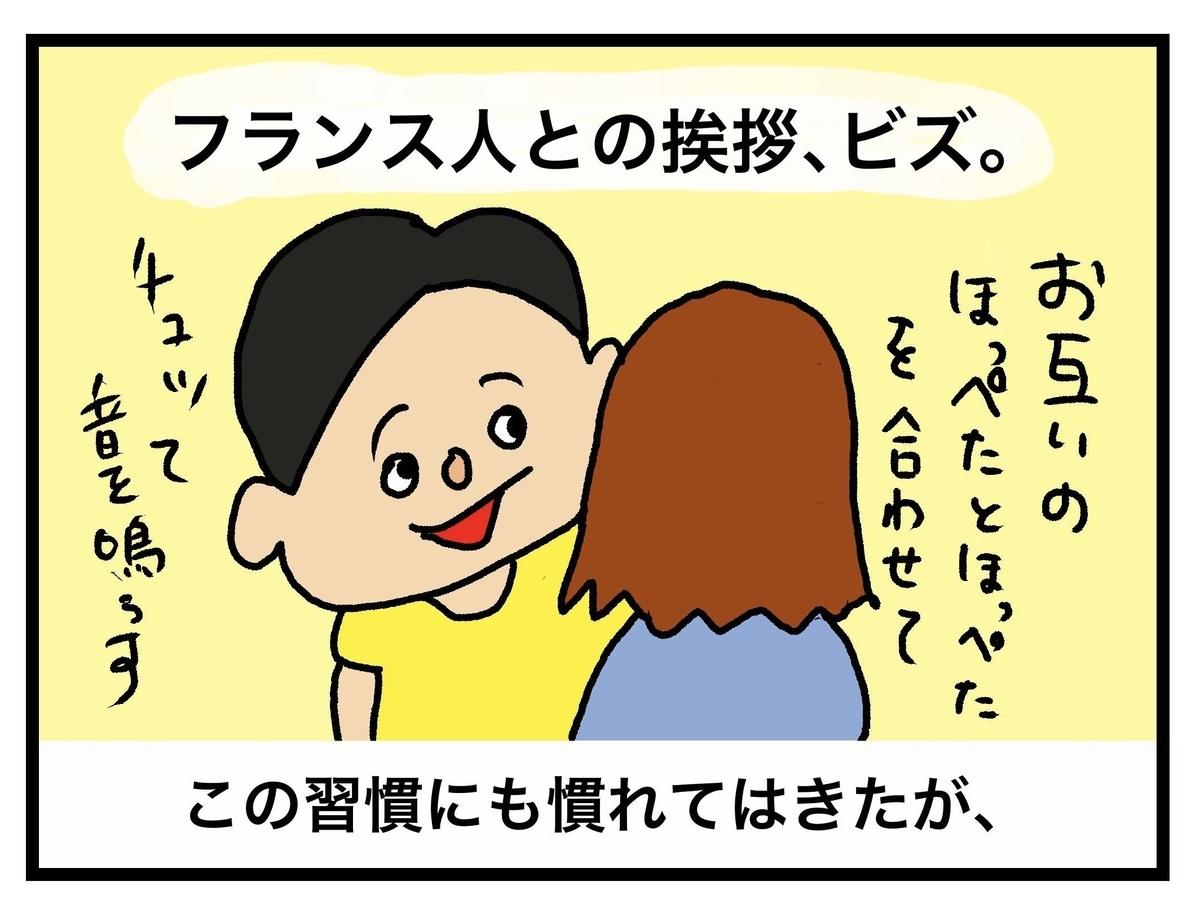 挨拶のキス