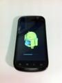 Nexus SをJelly Beanにアップグレード