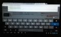 ソフトウェアキーボード