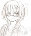 ロビンちゃんェ… こいつ視力高いから眼鏡不要すぎる