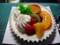 101225・サンクス・クリスマスケーキ
