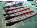 130106・駆逐艦睦月型5番艦から8番艦建造開始・2