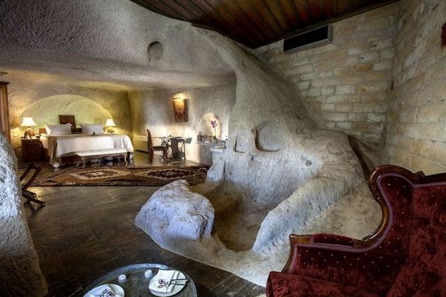 カッパドキアの洞窟ホテル「ミュージアムホテル(ウチヒサール)」