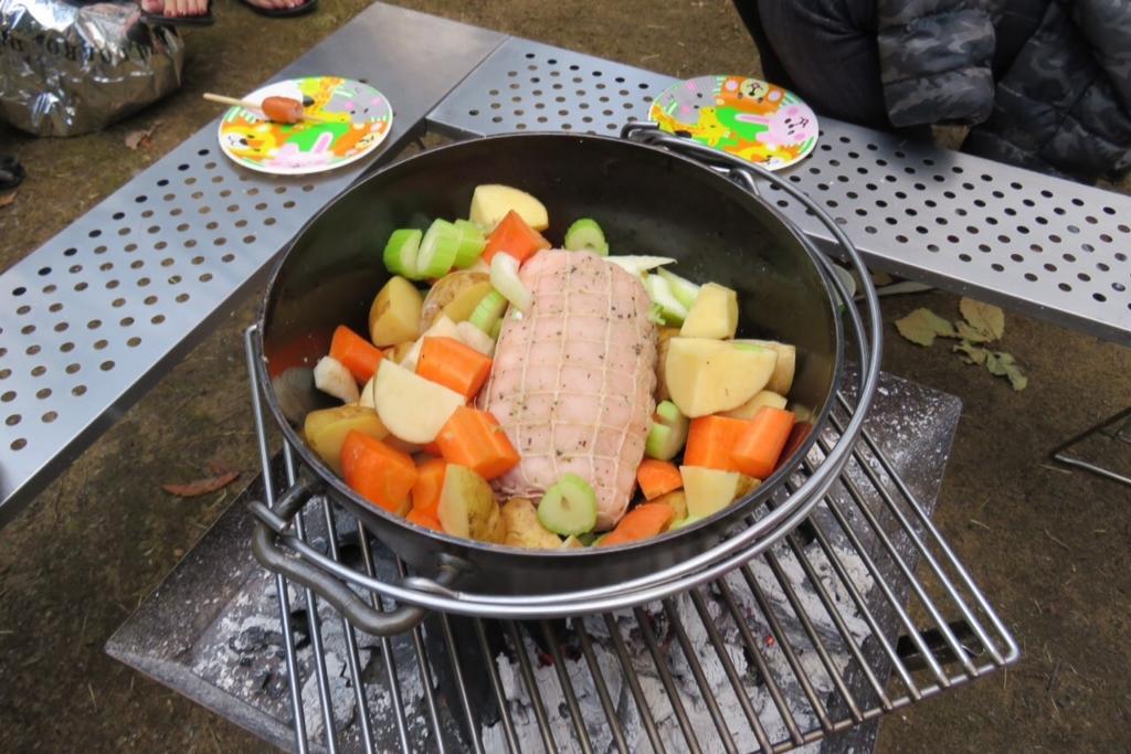 ダッチオーブン ローストポーク 焼き方