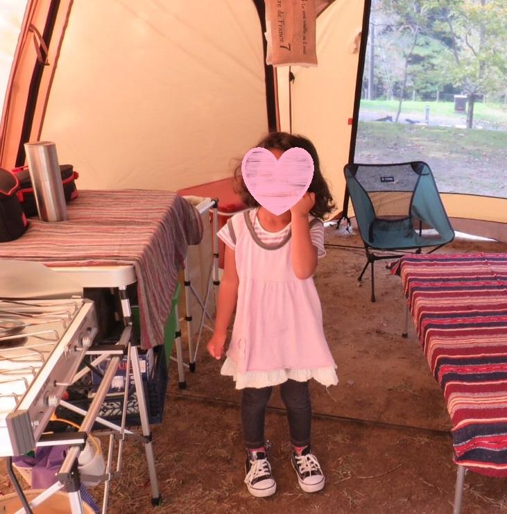 キャンプ持ち物 置き場所