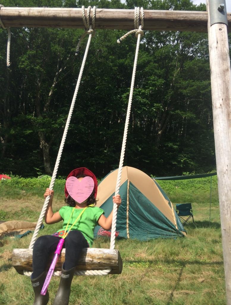 子連れキャンプでフジロックキャンプサイト