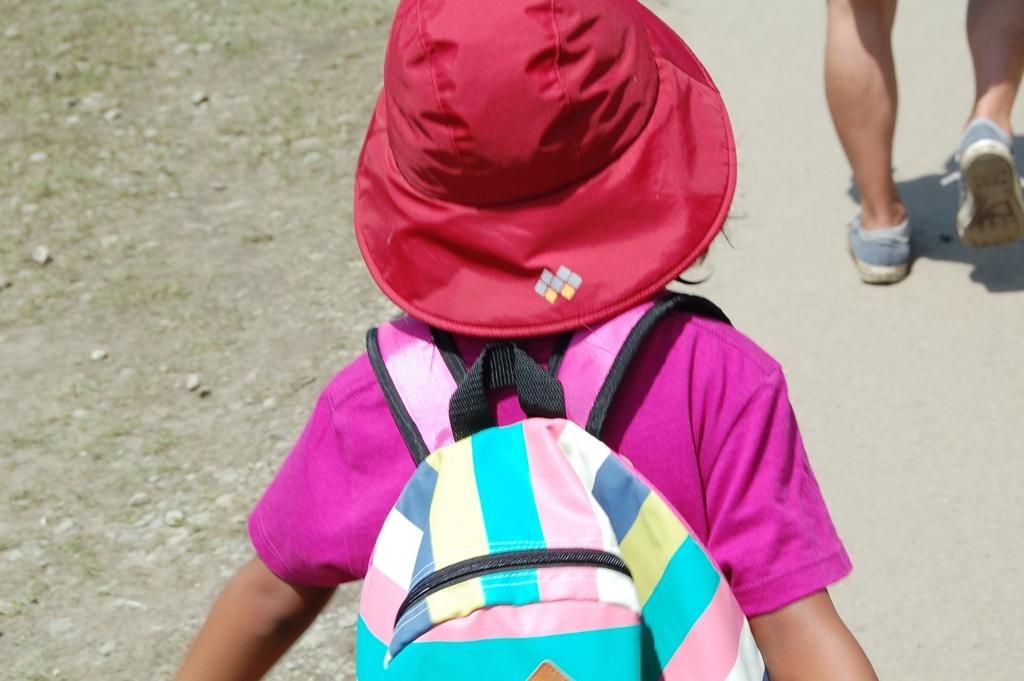 子連れキャンプでフジロック娘の荷物