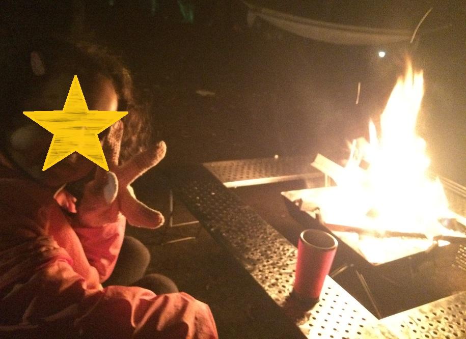 キャンプ 焚き火 薪 やり方