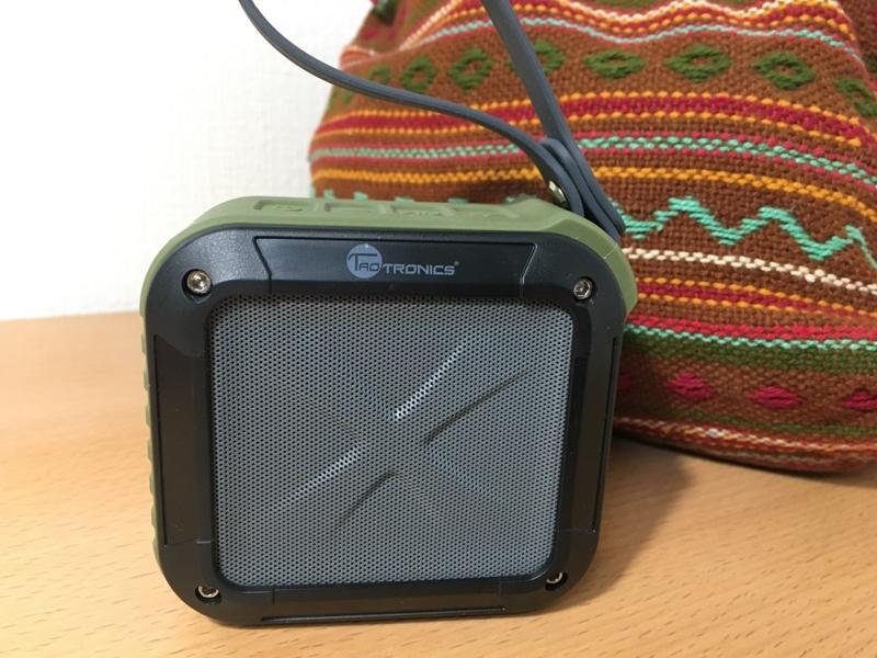 キャンプ 音楽 Bluetoothスピーカー