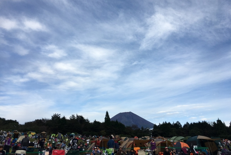 朝霧ジャム 子連れ キャンプ フェス