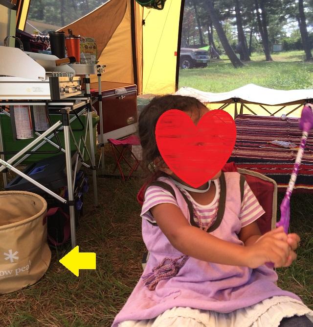 キャンプ道具 キャンプバケツ キャンプ必需品
