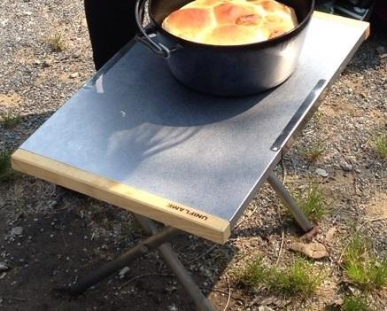 ユニフレーム 焚き火テーブル キャンプ 必需品