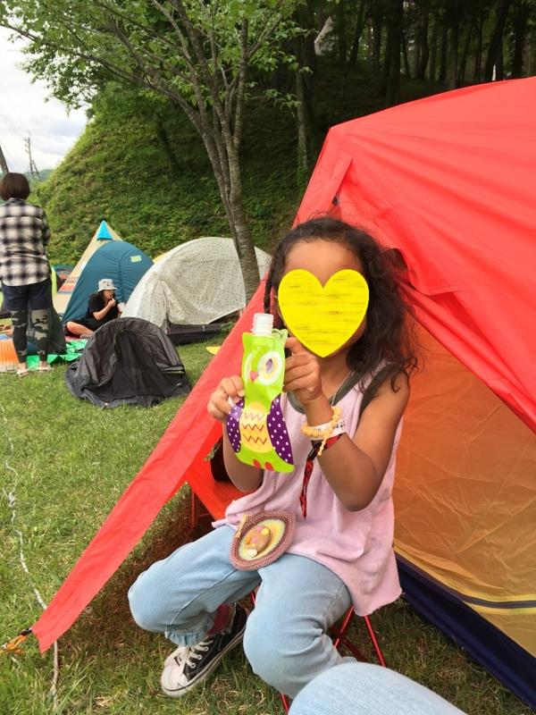 子連れ フェス タイコクラブ 5歳 キャンプ カペラ120
