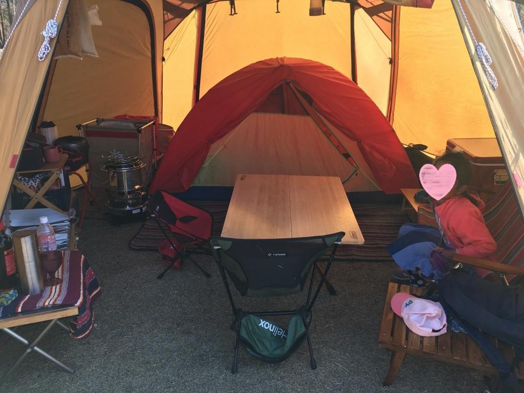 キャンプ メッシュシェルター テント カペラ カンガルースタイル