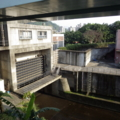 台北 取水口前の水門